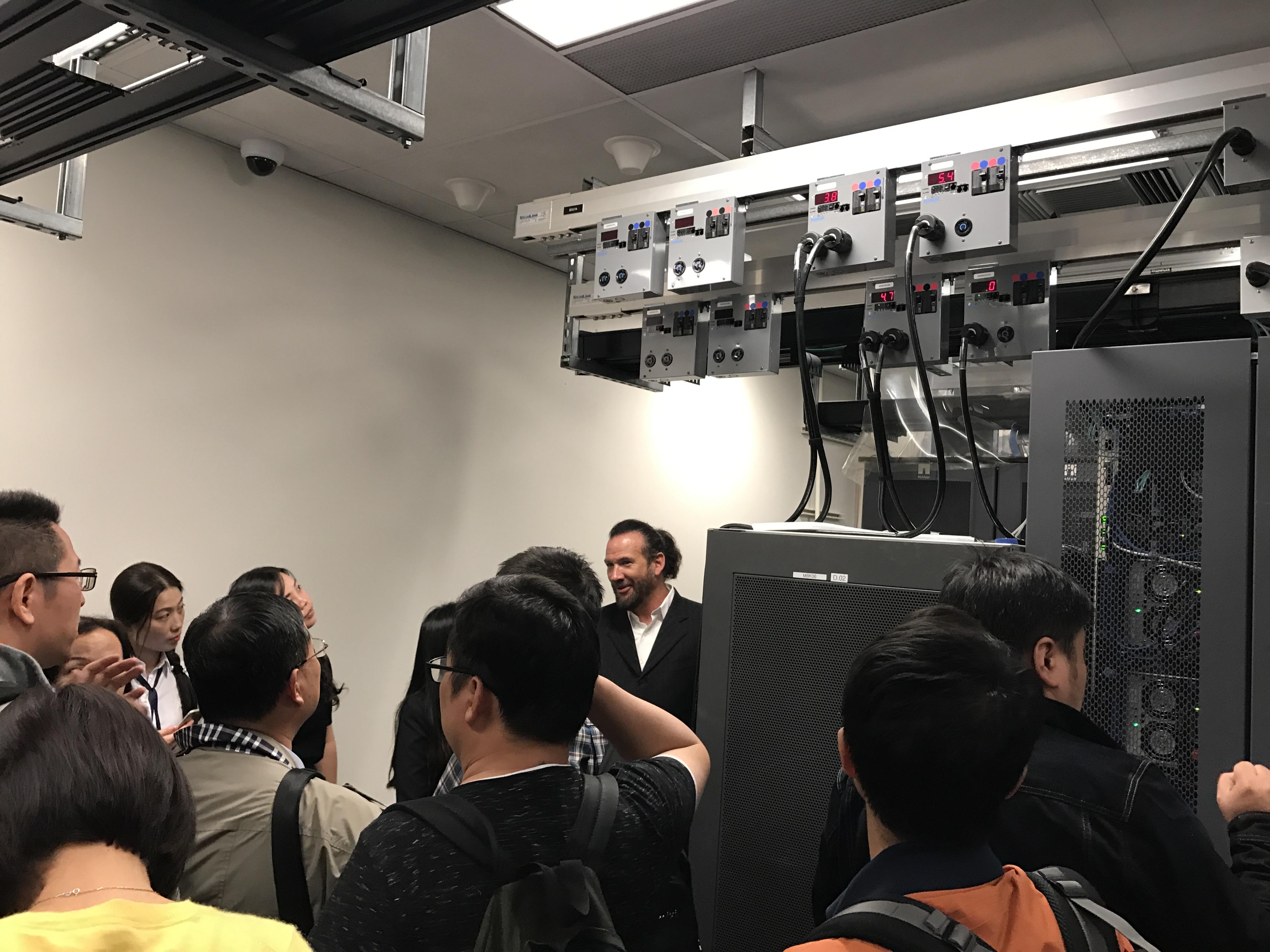 NetApp Building 2内部参观