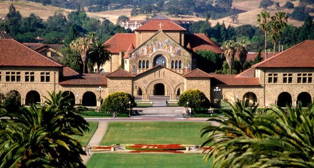 斯坦福校园远景