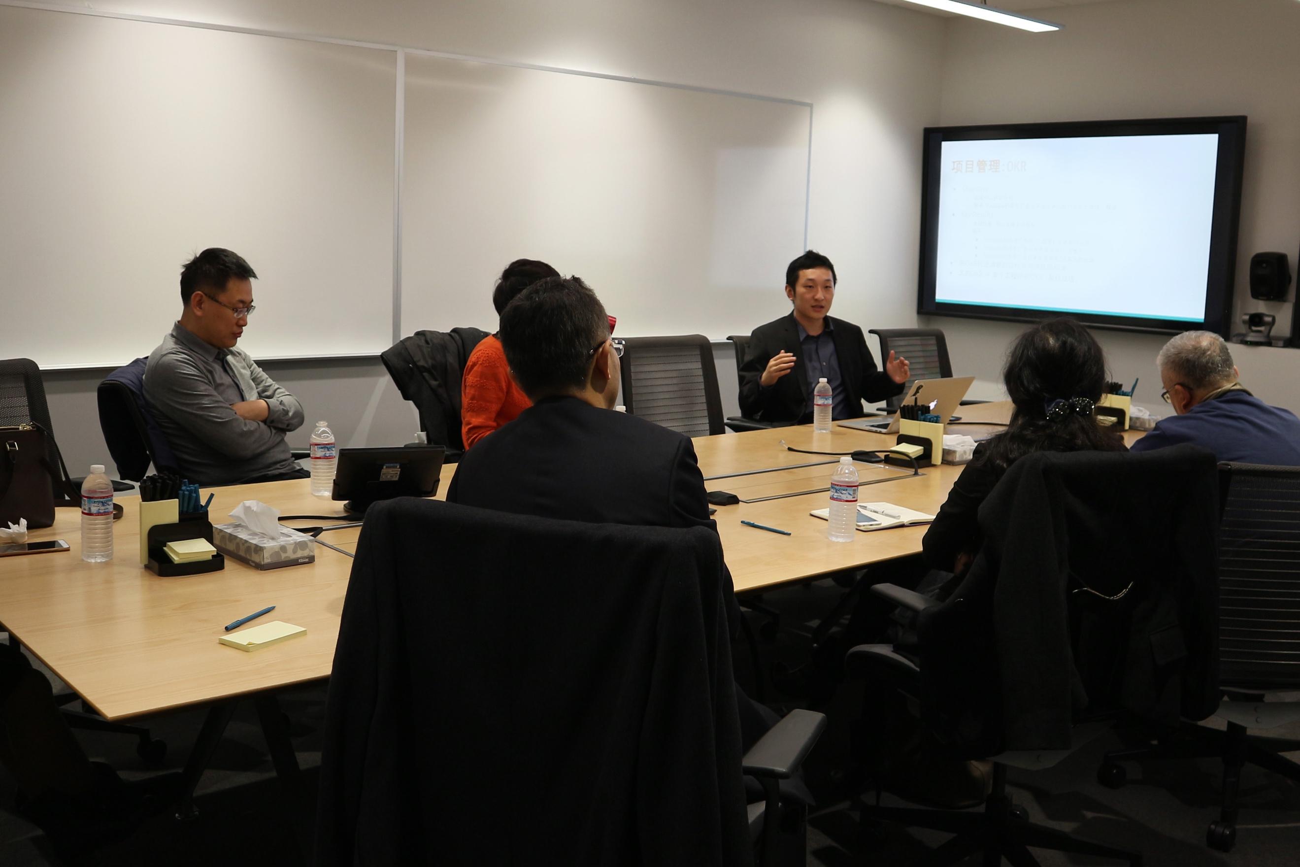 Google人工智能研发团队高管Luo博士深入介绍和交流